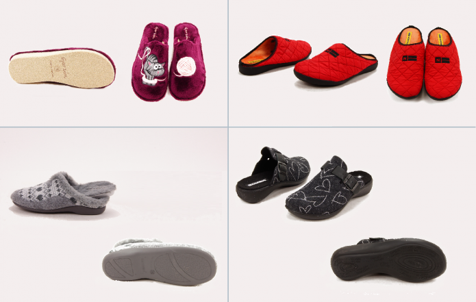 Suelas de zapatillas
