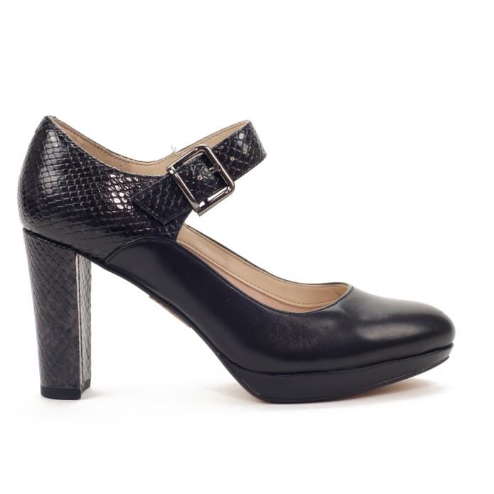Zapato de tacón cómodo clarks kendra gaby