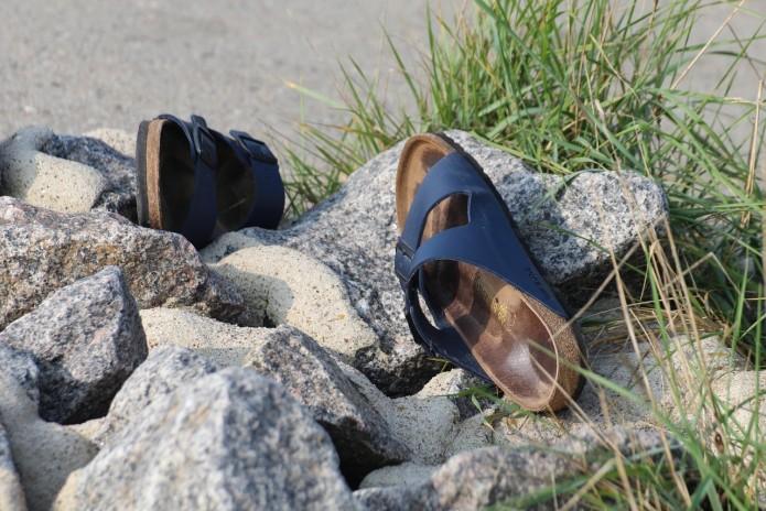 Sandalias de verano playa